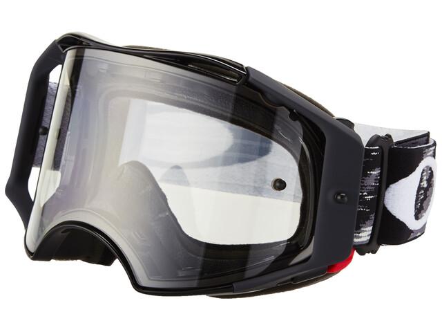 Oakley Airbrake MX - Masque - noir/transparent